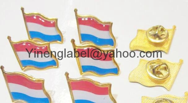 Custom Metal Enamal expoy Flag lapel Pin  Breastpin 10