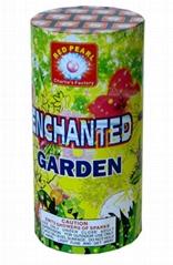 CONSUMER FIREWORKS --FOUNTAINS --Enchanted Garden