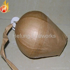 "High Quality 4""Green Coconut Tree w/Tail Shells Fireworks From China"