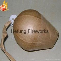 "1.3g fireworks display shells 4""Green Iron Tree CE fireworks wholesale"