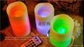 浪口圆柱电子蜡烛灯