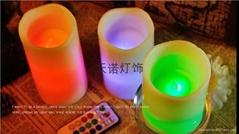 浪口圓柱電子蠟燭燈