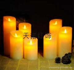搖擺火苗蠟燭燈