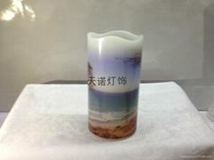 水貼紙遙控蠟燭燈