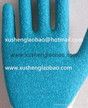 21cotton yarn wrikle safety gloves 2