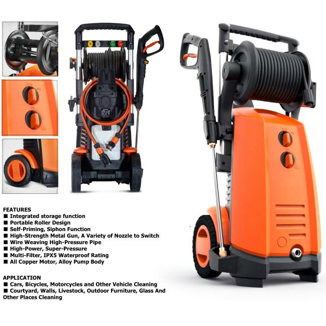 High Pressure Washer 3000w Super Power Garden Cleaning Machine 1