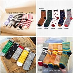 男士襪子中筒襪優質純棉透氣襪子廠家直銷