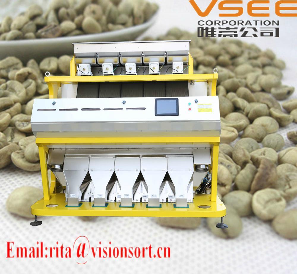 VSEE green coffee bean selecter,color sorter machine Taiwan Malaysia 1