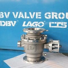 API Trunnion Mounted Bore Ball valve