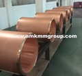 Round copper mould tubes