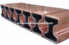 Beam blank CCM copper mould tube