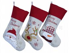 生產定製聖誕襪 聖誕節裝飾品 糖袋 酒瓶衣 Christmas Stockings