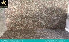 Good Price China Local Red Granite Tile Slab G687 Cherry Pink