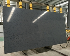 Black Engineered Quartz Stone Slabs Tiles Color Close Cambria Quartz Stone Color