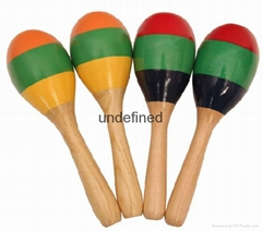 Musical toys,wooden maracas orff instruments wholesale