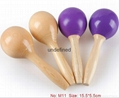 Musical toys,wooden maracas orff instruments wholesale 2
