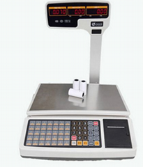 China factory cash register scale with inner pinter