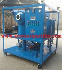 Online Vacuum Transformer Oil Purification Plant