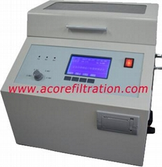 Insulating Oil Test Unit for Oil Dielectric Strength Testing