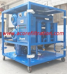 Factory Vacuum Dehydration Oil Purification Plant