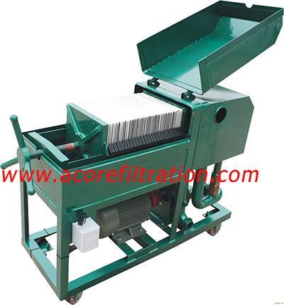 Plate Frame Press Oil Filter Machine Manufacturer 1