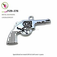 Alloy Pistol Pendant Toy
