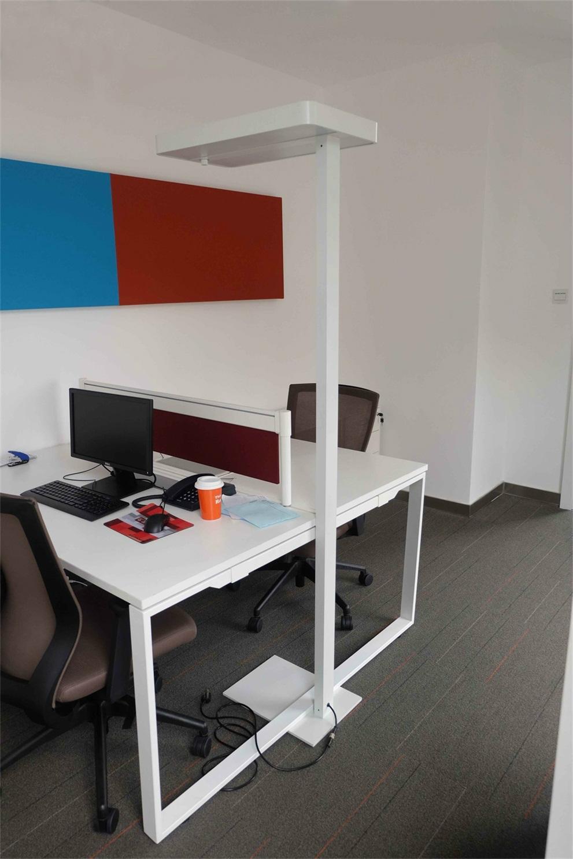 Uispair Modern Office 10W 32V Steel Base LED Floor Lamp 1