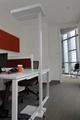 Uispair Modern Office 10W 32V Steel Base LED Floor Lamp 4