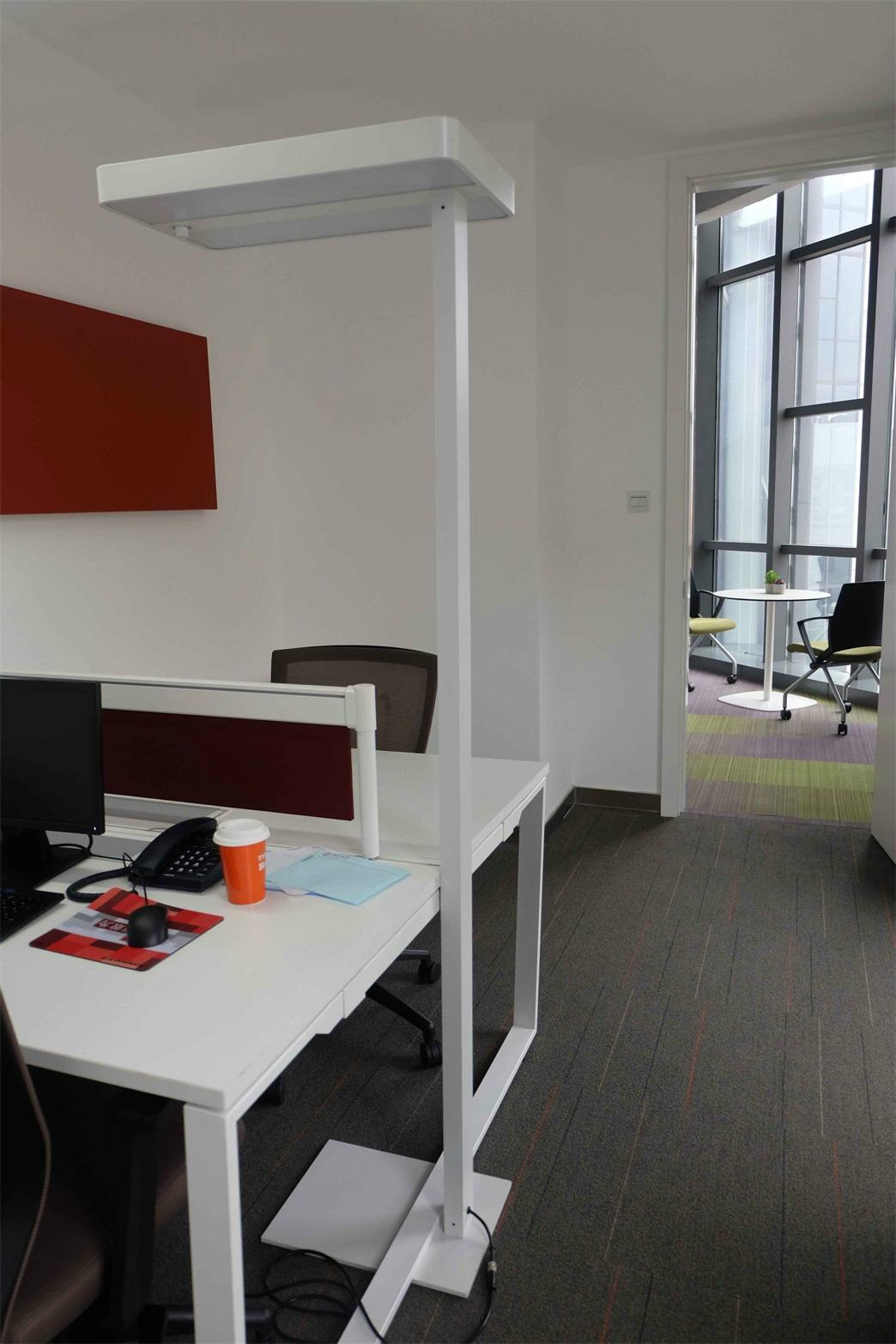 Uispair Modern Office 10W 32V Steel Base LED Floor Lamp 2