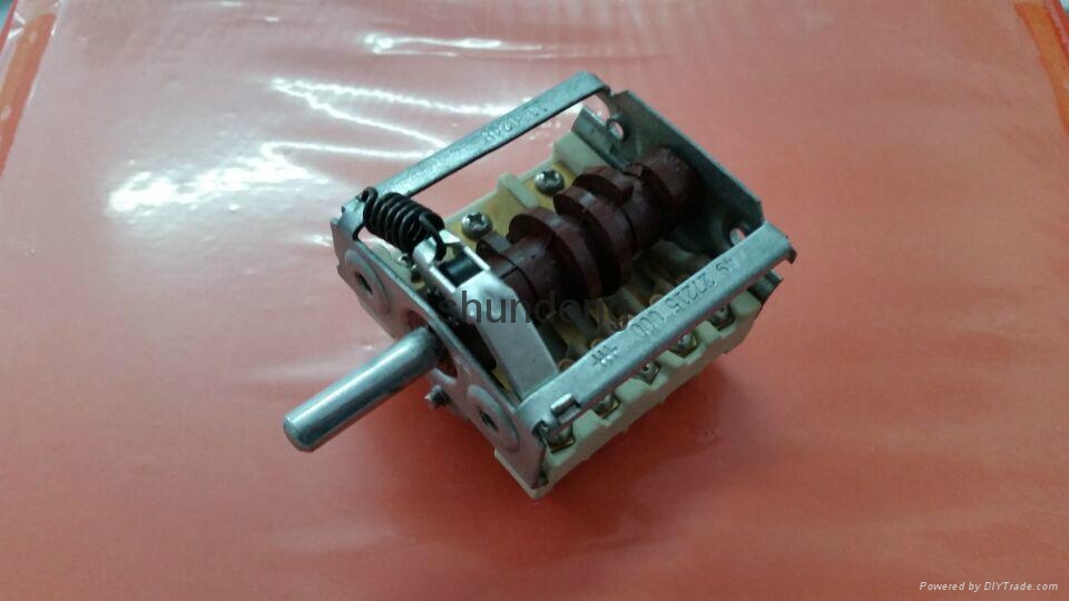 Rotary switch gear switch shundeng switch the oven switch 3