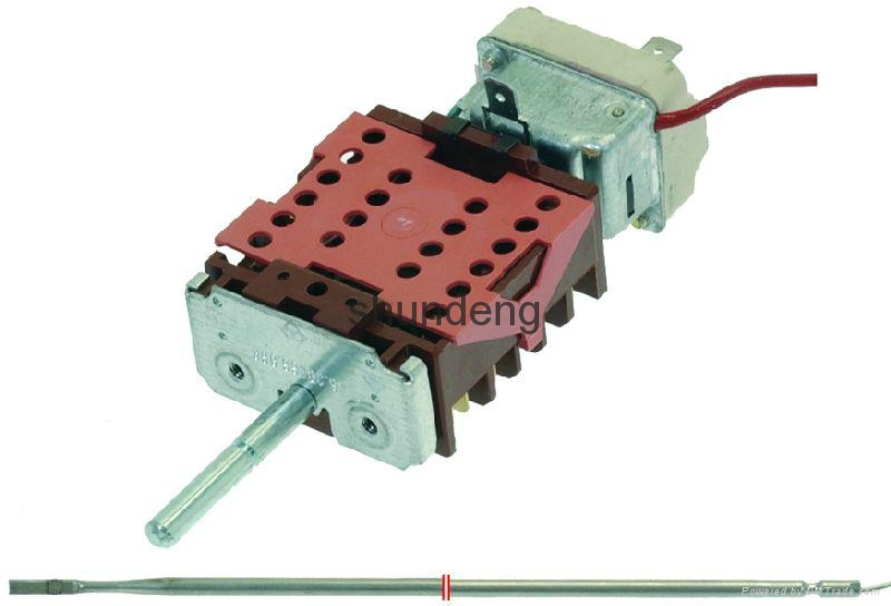The oven temperature control switch switch electric switch gear  6