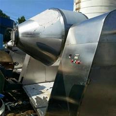 常年購銷二手3立方不鏽鋼雙錐迴轉乾燥機