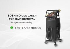 2021 Hot Dual Heads Alma Soprano Ice Titanium Laser Bar Hair Removal Diode Laser