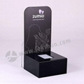 Customized Black Acrylic Electronic Products Display Stand With LED 2