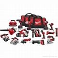 Milwaukee 2695-15 M18 Li-ion 18 Volt 15 Tool Combo Kit