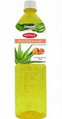 OKYALO 1.5L Peach Aloe Vera Drink manufacturer