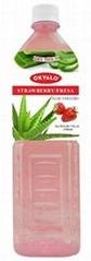 OKYALO Strawberry Aloe Vera Drink manufacturer