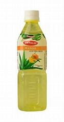 OKYALO Wholesale 500ml Aloe vera juice drink with Mango flavor
