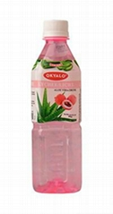 OKYALO Wholesale 500ml Aloe vera juice drink with Lychee flavor