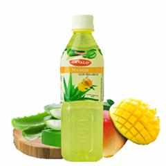 OKYALO 500ML Bebida de aloe vera de mango