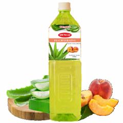 1.5L Bebida de aloe vera natural con sabor durazno