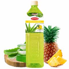 OKYALO 1.5L piña bebida de aloe vera de al por mayor