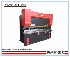 WC67Y-100T/3200液壓數控折彎機