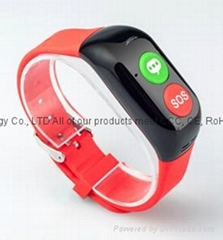 2016 Factory Wholesale Health Care OEM Bluetooth Heart Rate Smart Bracelet with