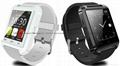 U8 smart watch phone bluetooth touch