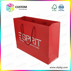 Paper bag shopping paper bags