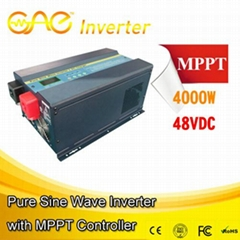 48V 4000W Low Frequency Pure Sine Wave Inverter with MPPT Solar Controller