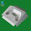 High quality Custom biodegradable Disposable molded paper pulp product packaging 1