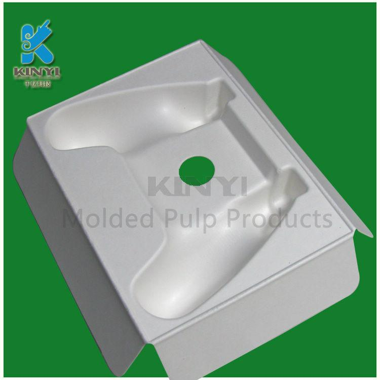 High quality Custom biodegradable Disposable molded paper pulp product packaging 2