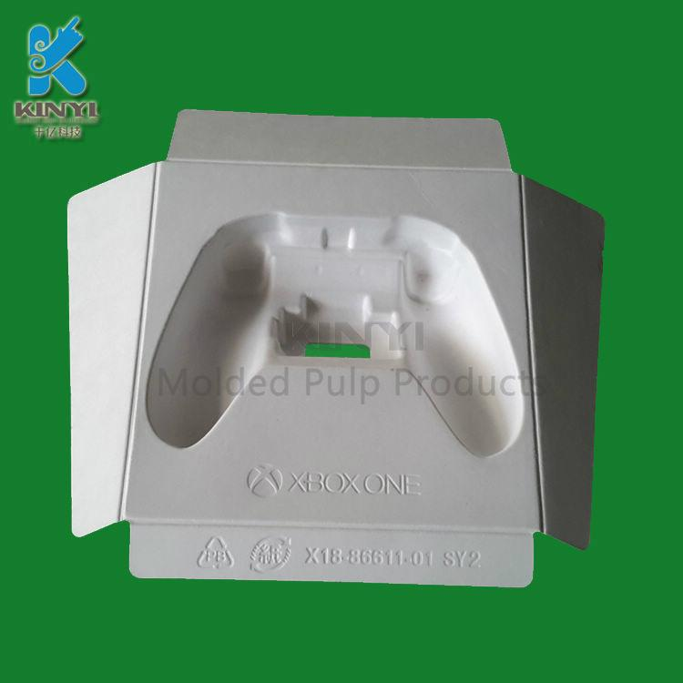 High quality Custom biodegradable Disposable molded paper pulp product packaging 4